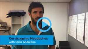 Video discussing Cervicogenic Headaches