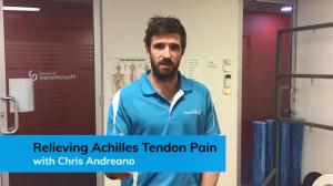 Relieve Achilles Tendon pain