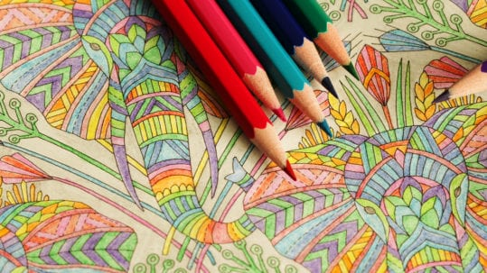 colouring can reduce stress